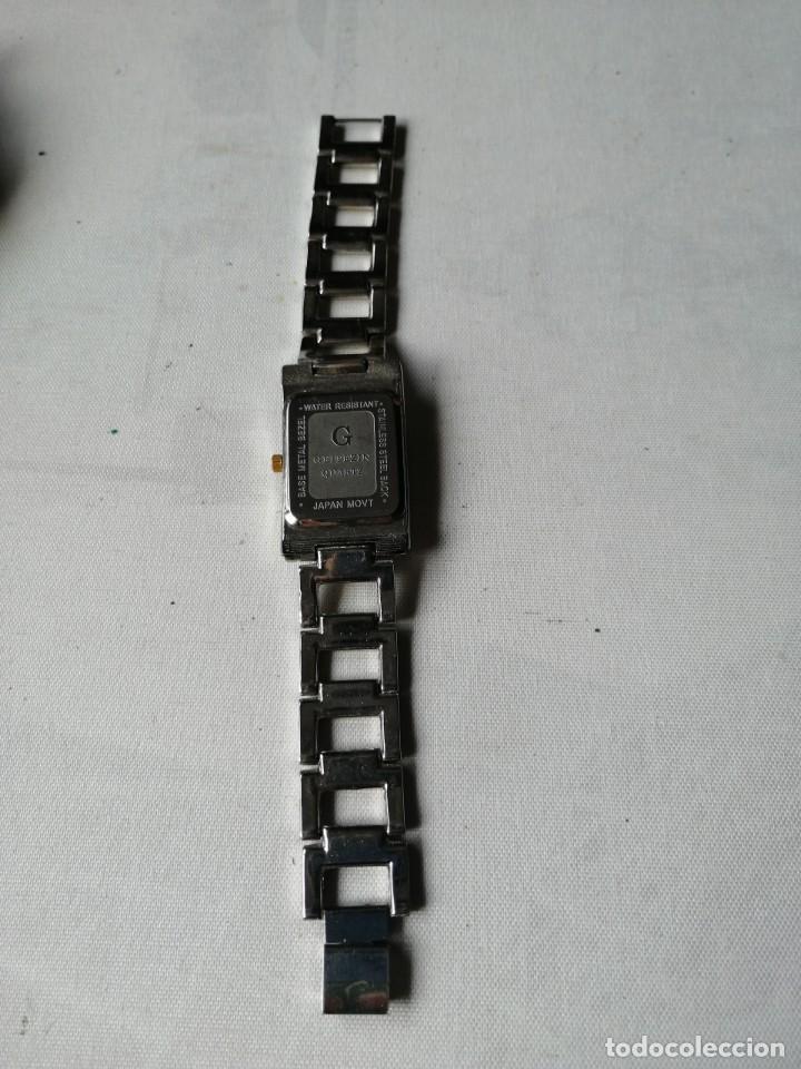 Relojes: RELOJ DE SEÑORA GEITEZIN.JAPAN MOVT,QUARTZ.ARMIS DE METAL. - Foto 8 - 196131045