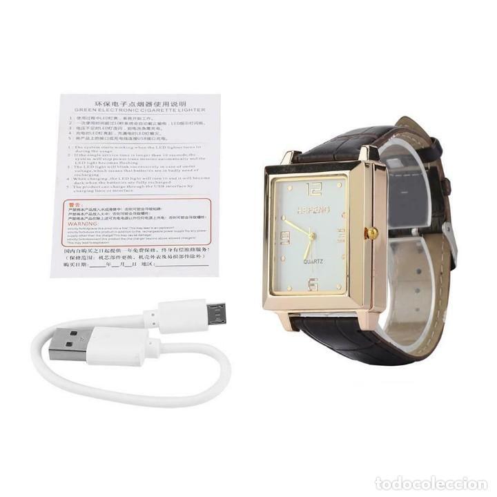 Relojes: RELOJ CON ENCENDEDOR DE CARGA USB SIN LLAMA - Foto 6 - 196487377