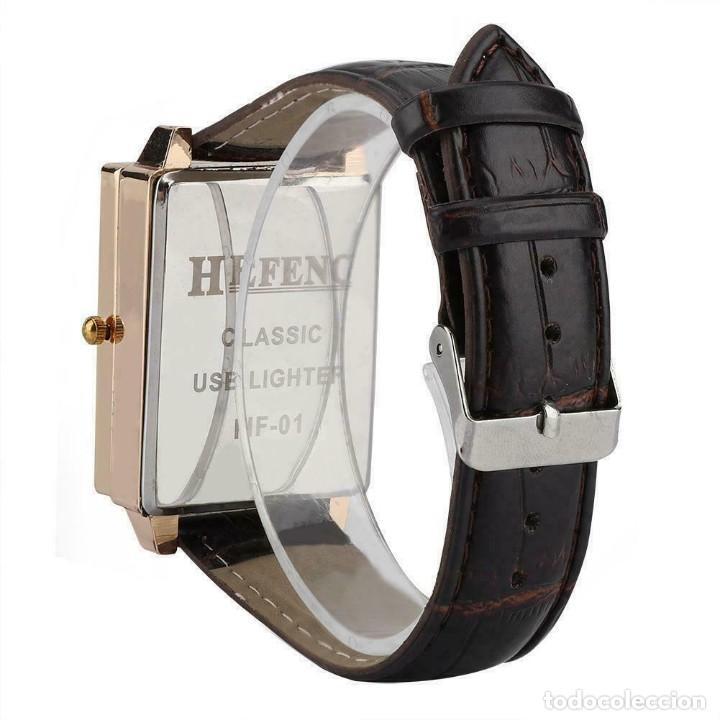 Relojes: RELOJ CON ENCENDEDOR DE CARGA USB SIN LLAMA - Foto 2 - 196487377