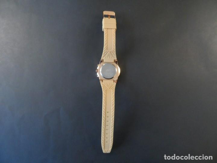 Relojes: RELOJ CORREA CAUCHO CAMEL Y ACERO ORO ROSA. GIORGIE VALENTIAN. ESFERA CAMEL. SIGLO XXI - Foto 4 - 196564573