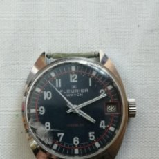 Relojes: RELOJ FLEURIER WATCH INCABLOC.MADE SWISS.. Lote 196590470