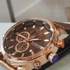 Relojes: PRECIOSO RELOJ CRONÓGRAFO. RELOJ PULSERA PARA HOMBRE, TAMAÑO IDEAL.. Lote 196867561