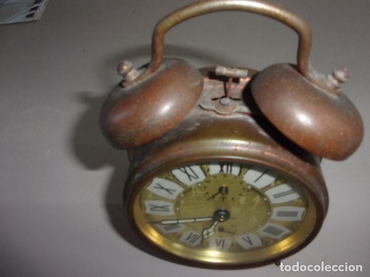 RELOJ DESPERTADORCANPANILLA REPETITION ANTIGUO (Relojes - Relojes Actuales - Otros)