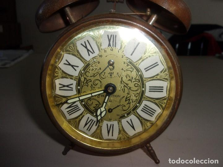 Relojes: RELOJ DESPERTADORCANPANILLA REPETITION ANTIGUO - Foto 2 - 196930216