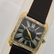 Relojes: PIAGET ORO 18KTS.-BRILLANTES-COMO NUEVO.. Lote 197153343