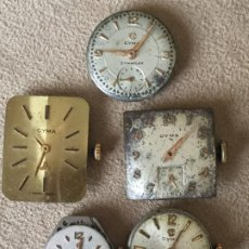 Relojes: 5 CYMA. Lote 197913680