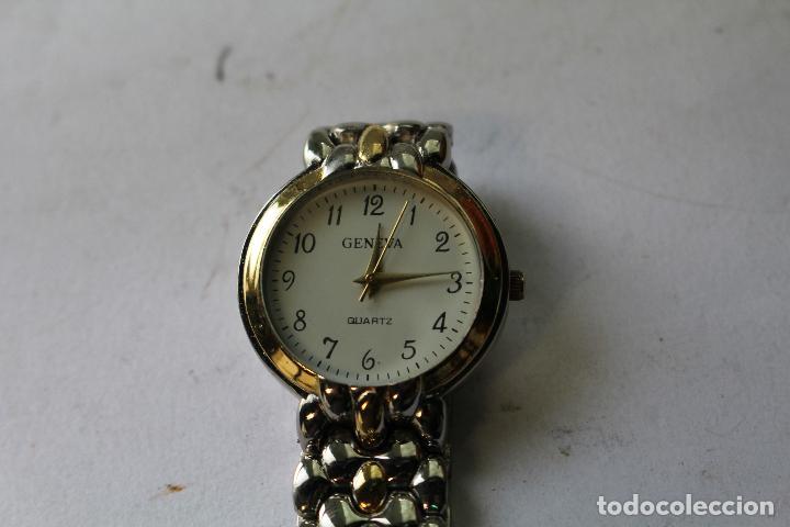 Relojes: reloj geneva quartz - Foto 4 - 198281423