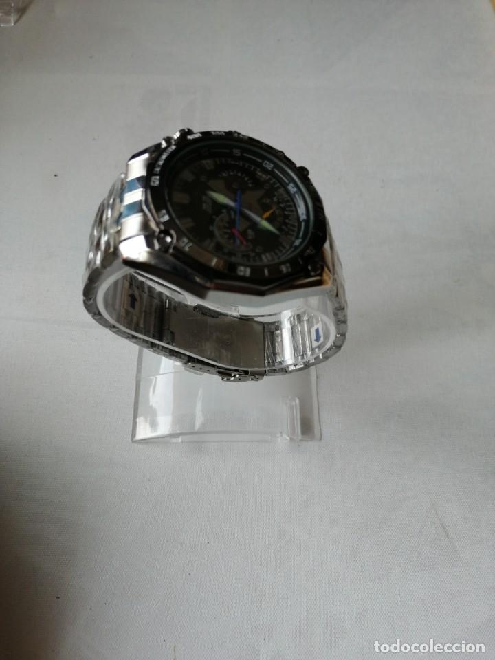 Relojes: RELOJ DE PULSERA CON ARMIS DE METAL.QUARTZ. - Foto 5 - 198310378