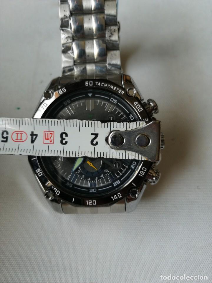 Relojes: RELOJ DE PULSERA CON ARMIS DE METAL.QUARTZ. - Foto 7 - 198310378