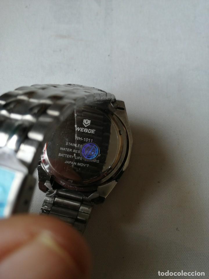 Relojes: RELOJ DE PULSERA CON ARMIS DE METAL.QUARTZ. - Foto 9 - 198310378