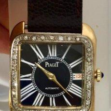 Relojes: PIAGET ORO 18KTS.-BRILLANTES-COMO NUEVO.. Lote 198579081