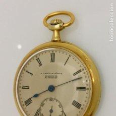 Relojes: A.LANGE&SHÖNNE-FRENTE PLAQUÈ ORO 18 KTS,. Lote 198579168
