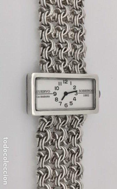 CUERVO Y SOBRINOS VINTAGE PLATA LEY-925 MUJER. (Relojes - Relojes Actuales - Otros)