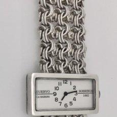 Relojes: CUERVO Y SOBRINOS VINTAGE PLATA LEY-925 MUJER.. Lote 198578533