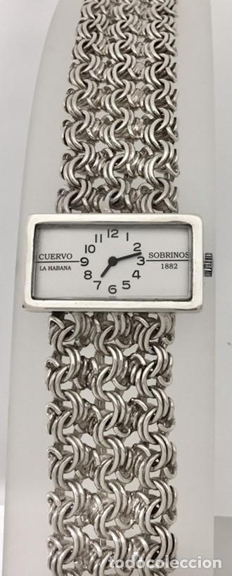 Relojes: CUERVO Y SOBRINOS VINTAGE PLATA LEY-925 MUJER. - Foto 4 - 198578533