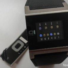 Relojes: RELOJ BINARIO DE LA MARCA 1HEONE DE MAXIMA CALIDAD NUEVO. Lote 198753523