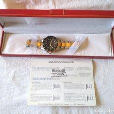 Relojes: RELOJ PULSERA ALEN DIONE SUIZO, CAJA Y CORREA ACERO, NUEVO A ESTRENAR, CON ESTUCHE. Lote 198785616