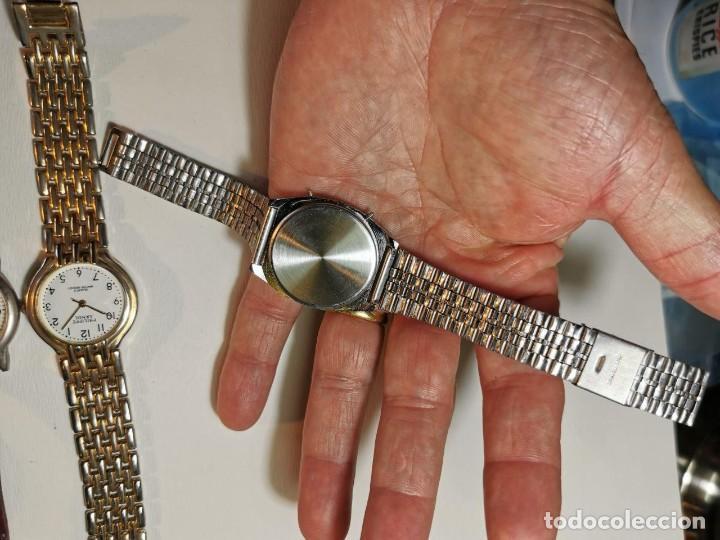 Relojes: LOTE DE CUATRO RELOJES DE QUARTZ, KESSEL, GENEVA, PHILIPPE ARNOL, TV3 - Foto 3 - 198838820