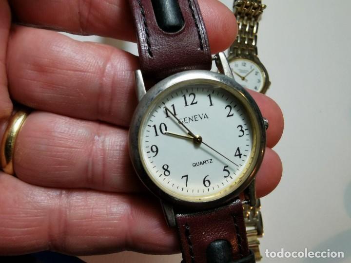 Relojes: LOTE DE CUATRO RELOJES DE QUARTZ, KESSEL, GENEVA, PHILIPPE ARNOL, TV3 - Foto 7 - 198838820