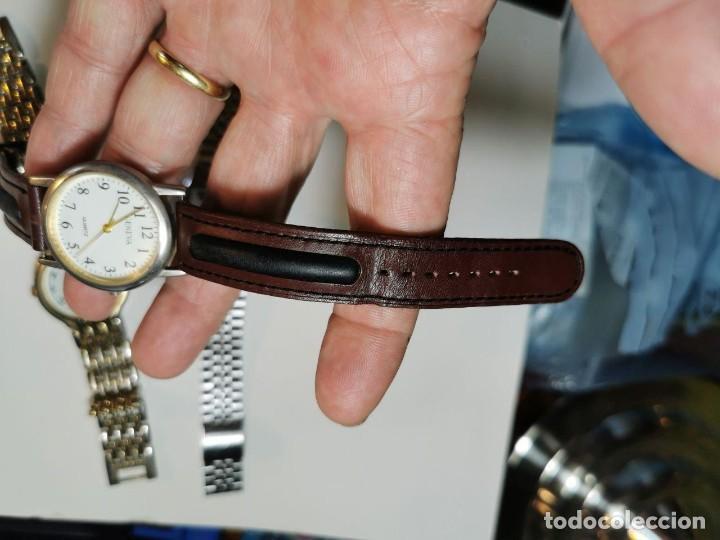 Relojes: LOTE DE CUATRO RELOJES DE QUARTZ, KESSEL, GENEVA, PHILIPPE ARNOL, TV3 - Foto 9 - 198838820