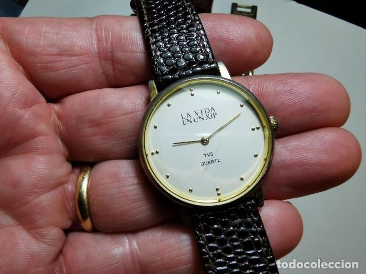 Relojes: LOTE DE CUATRO RELOJES DE QUARTZ, KESSEL, GENEVA, PHILIPPE ARNOL, TV3 - Foto 11 - 198838820