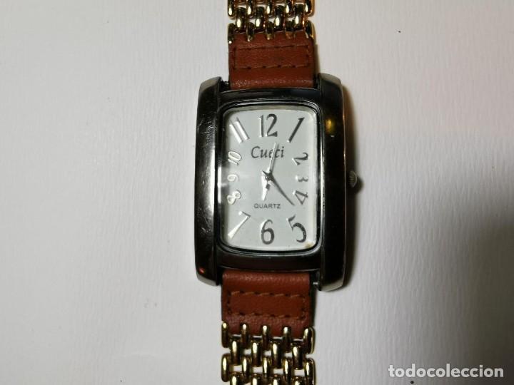 RELOJ DE PULSERA CUECI QUARZ FUNCIONANDO (Relojes - Relojes Actuales - Otros)