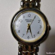 Relojes: RELOJ DE PULSERA DE CUARZO, PARA MUJER, DE LA MARCA PHILIPPE ARNOL FUNCIONANDO. Lote 198841228