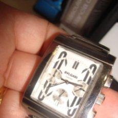 Relojes: RELOJ BULGARI , DESCONOZCO SI ES ORIGINAL . VER FOTOS . FALTA PILA .. Lote 199051121