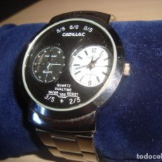Relógios: RELOJ CADILLAC , QUARTZ 2 HORARIOS. Lote 199141942
