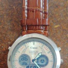 Relojes: RELOJ DE PULSERA MARCA CUSSI ANALÓGICO DIGITAL. Lote 199268262