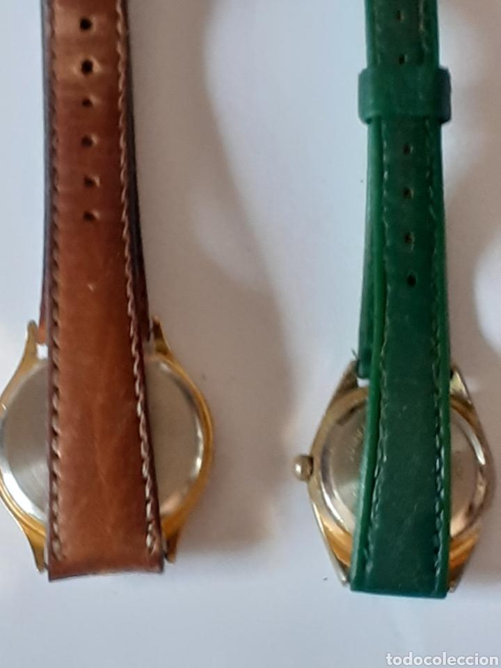 Relojes: Lote de 2 relojes de cuarzo funcionando perfectamente - Foto 2 - 199301175