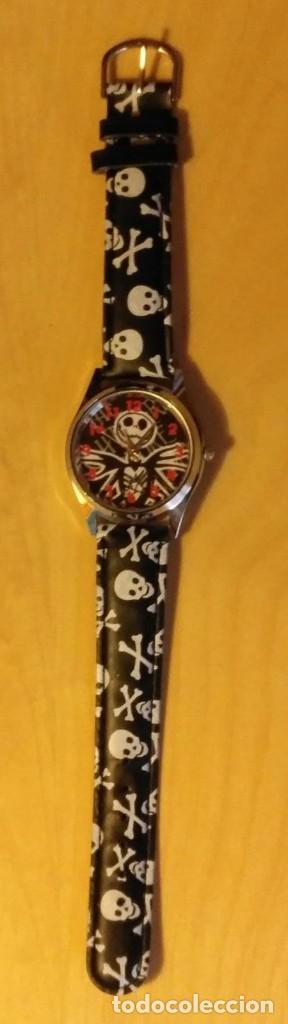 Relojes: Rg 19 Reloj muñeca calaveras - Por estrenar - Sin pila - diámetro 4cm - Foto 2 - 199386601