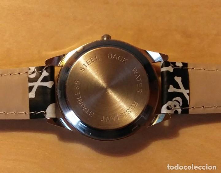 Relojes: Rg 19 Reloj muñeca calaveras - Por estrenar - Sin pila - diámetro 4cm - Foto 4 - 199386601