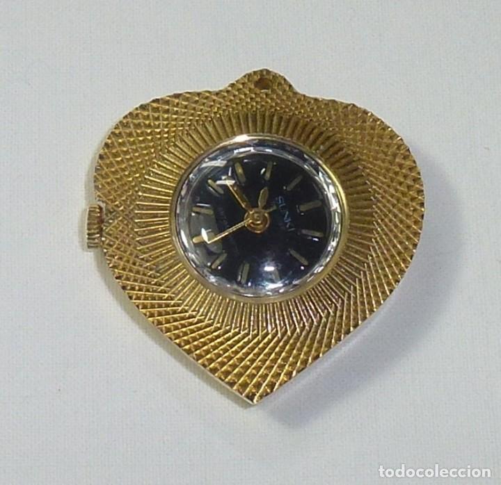 Relojes: Reloj De Cuerda Para Colgar Marca Sunki De Luxe Antimagnetic.No Funciona. - Foto 2 - 199782393