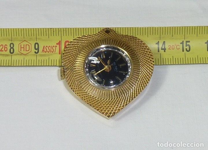 Relojes: Reloj De Cuerda Para Colgar Marca Sunki De Luxe Antimagnetic.No Funciona. - Foto 4 - 199782393