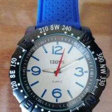 Relojes: RELOJ 13055. AZUL. ACERO INOXIDABLE. NUEVO SIN USO. DESCONOZCO MARCA.. Lote 199806480