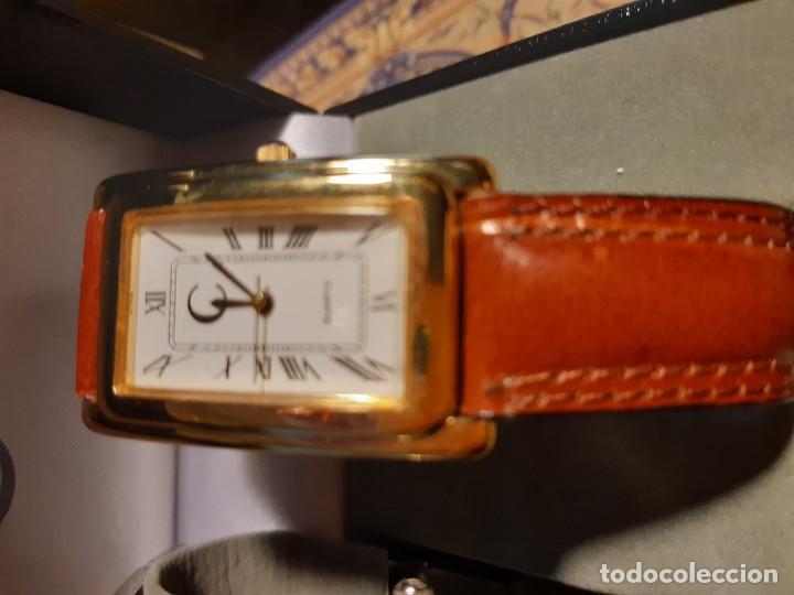 Relojes: 2 relojes de pulsera jean bellver para hombre y mujer sin usar en su caja - Foto 3 - 199946252