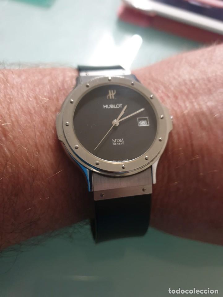 Relojes: Reloj Hublot Classic Hombre/Unisex Correa Caucho 2004 Excelente Estado - Foto 2 - 200295836