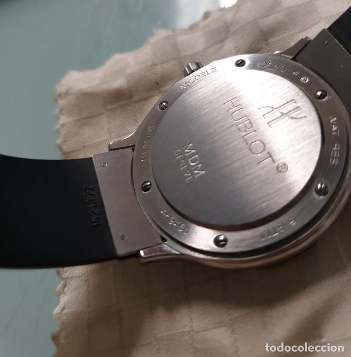 Relojes: Reloj Hublot Classic Hombre/Unisex Correa Caucho 2004 Excelente Estado - Foto 3 - 200295836