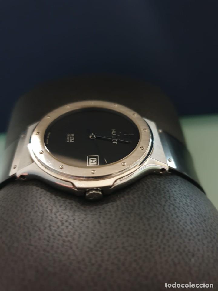 Relojes: Reloj Hublot Classic Hombre/Unisex Correa Caucho 2004 Excelente Estado - Foto 4 - 200295836
