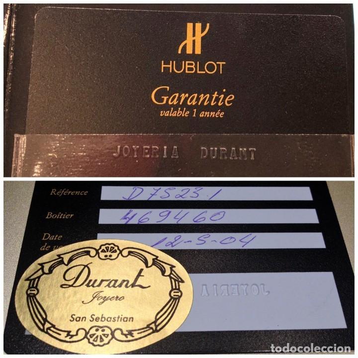 Relojes: Reloj Hublot Classic Hombre/Unisex Correa Caucho 2004 Excelente Estado - Foto 5 - 200295836