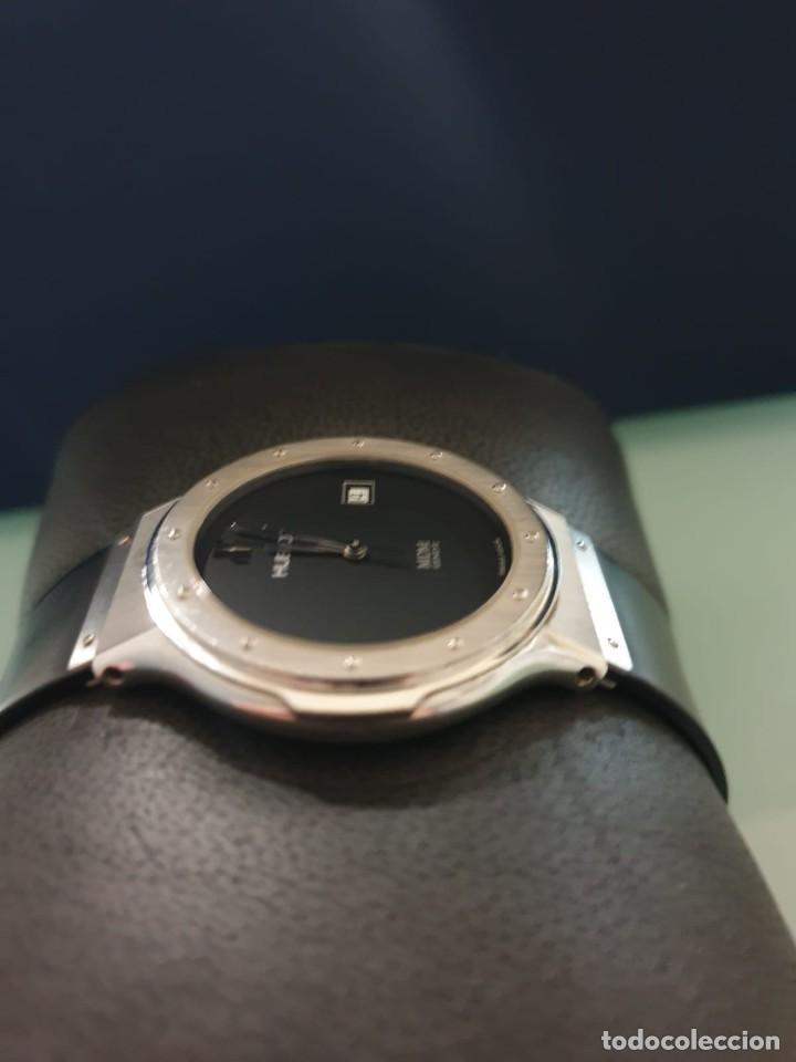 Relojes: Reloj Hublot Classic Hombre/Unisex Correa Caucho 2004 Excelente Estado - Foto 8 - 200295836