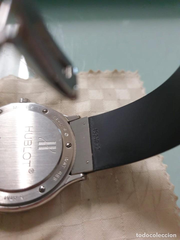 Relojes: Reloj Hublot Classic Hombre/Unisex Correa Caucho 2004 Excelente Estado - Foto 11 - 200295836