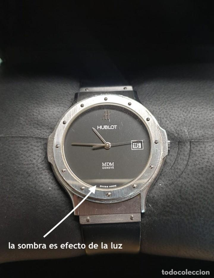 Relojes: Reloj Hublot Classic Hombre/Unisex Correa Caucho 2004 Excelente Estado - Foto 15 - 200295836
