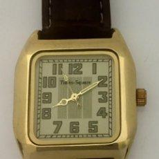 Relojes: TIMES-SQUARE BAÑO ORO ¡¡NUEVO A ESTRENAR!!. Lote 200765752