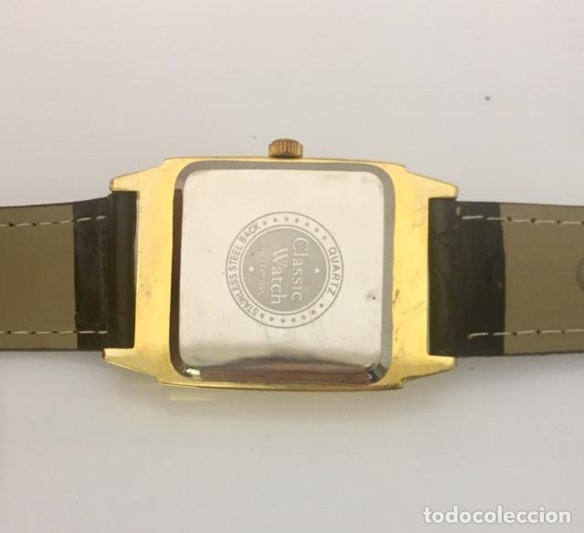 Relojes: TIMES-SQUARE BAÑO ORO ¡¡NUEVO A ESTRENAR!! - Foto 2 - 200765752