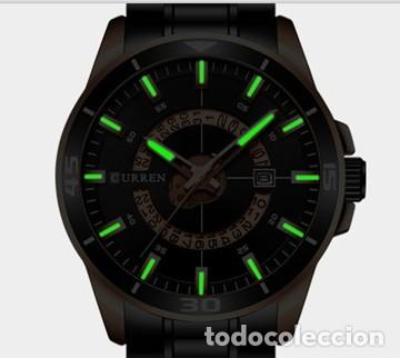Relojes: Reloj hombre quartz con calendario. Caja y correa acero inox. - Foto 3 - 200811976