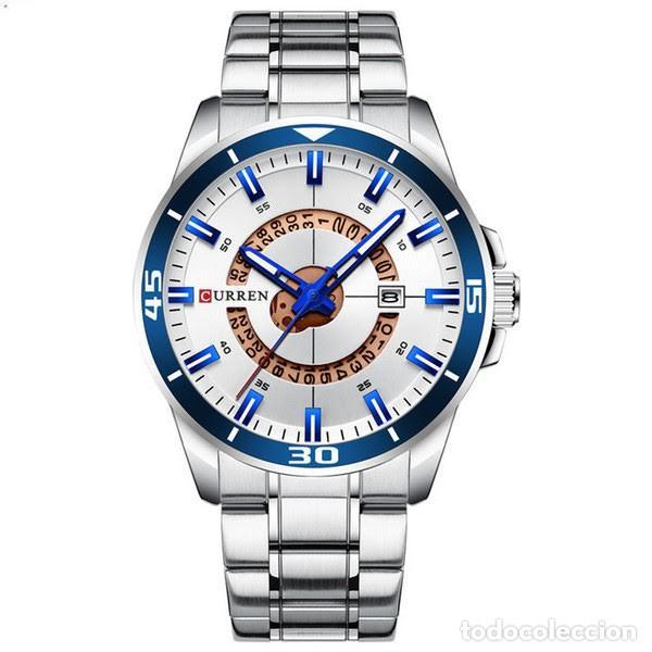 Relojes: Reloj hombre quartz con calendario. Caja y correa acero inox. - Foto 4 - 200811976