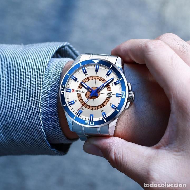Relojes: Reloj hombre quartz con calendario. Caja y correa acero inox. - Foto 5 - 200811976