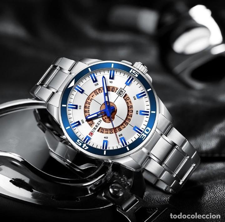 Relojes: Reloj hombre quartz con calendario. Caja y correa acero inox. - Foto 6 - 200811976